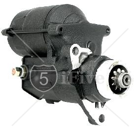 1.4 KW High Torque Big Twin Starter 2007-PRESENT Black Wrinkle Finish