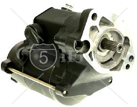 2.0 KW High Torque Big Twin Starter 1989-1993 Black Wrinkle Finish
