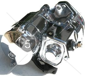1.2 KW High Torque Big Twin Starter 1994-2006 All Chrome Finish
