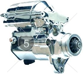 1.4 KW High Torque Big Twin Starter 2007-PRESENT All Chrome Finish