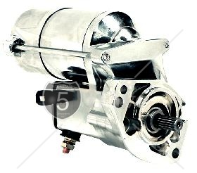 2.0 KW High Torque Big Twin Starter 1994-2006 Chrome Finish